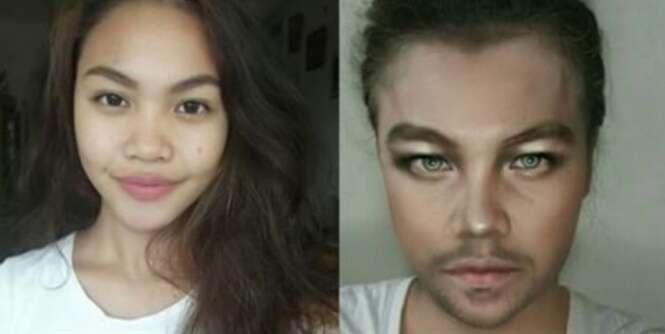Adolescente se transforma famosos apenas com o poder da maquiagem