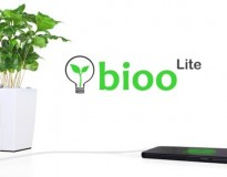 Vaso de planta recarrega bateria de celular com luz solar