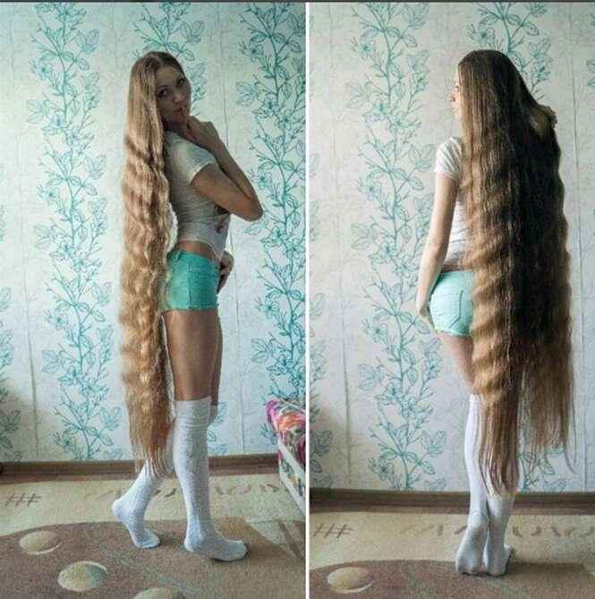 Jovem é chamada de Rapunzel da vida real