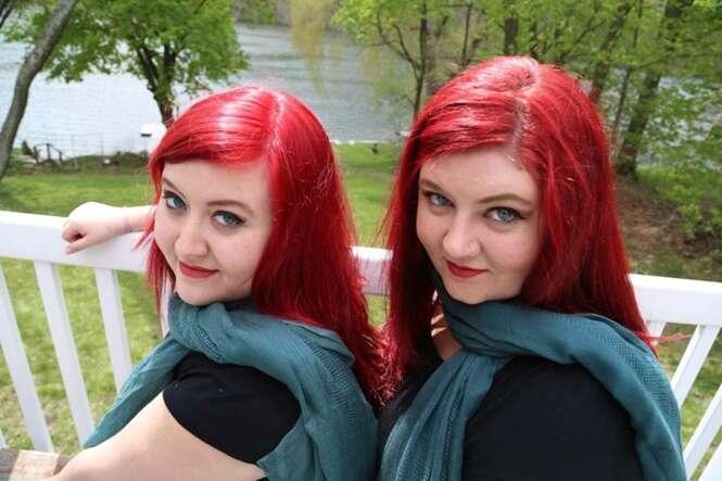 Imagem: Katie (esquerda) e Paula. Foto: Mercury Press