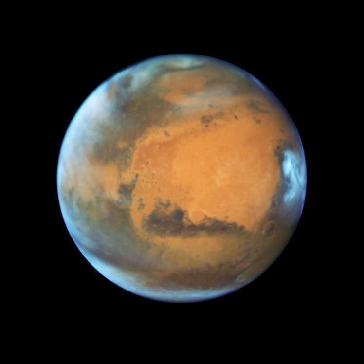 Na próxima segunda-feira planeta Marte ficará o mais próximo da Terra