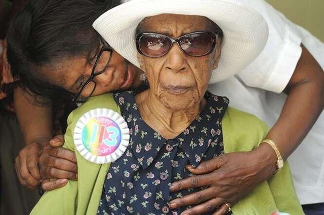 Pessoa mais velha do mundo morre nos EUA