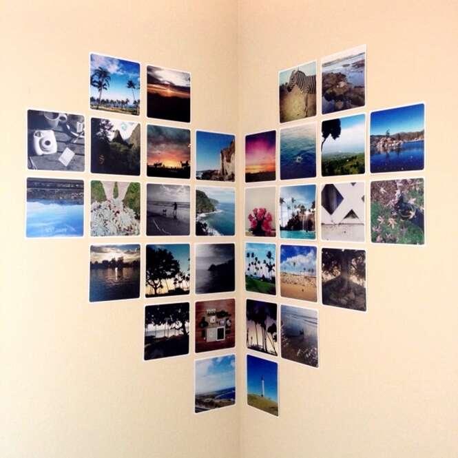 Ideias criativas para decorar a parede de casa