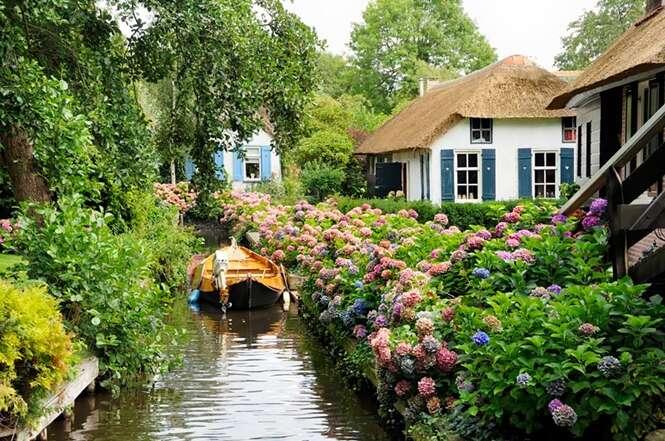 Vila sem estradas é o sonho de qualquer morador
