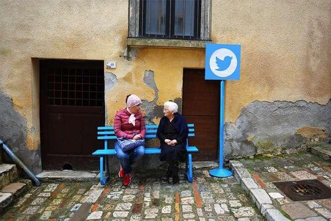Vila italiana se transforma em cidade da Web