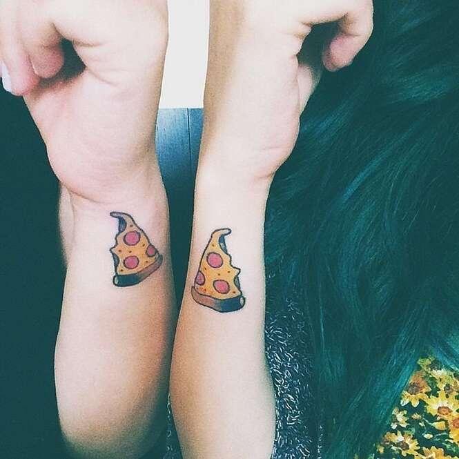 Tatuagens criativas que podem ser feitas por melhores amigas