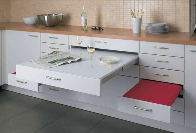 Fotos com ideias para aproveitar melhor sua cozinha pequena