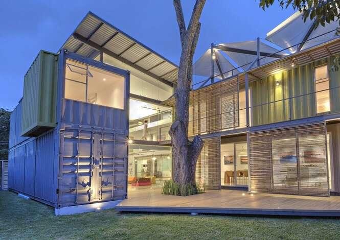 Casas incríveis feitas de contêiner