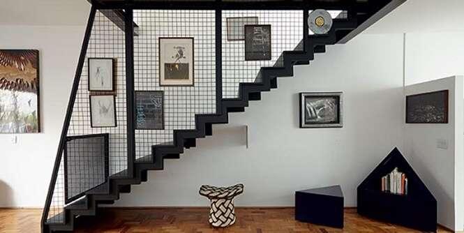 Exemplos de belas escadas para todo tipo de ambiente