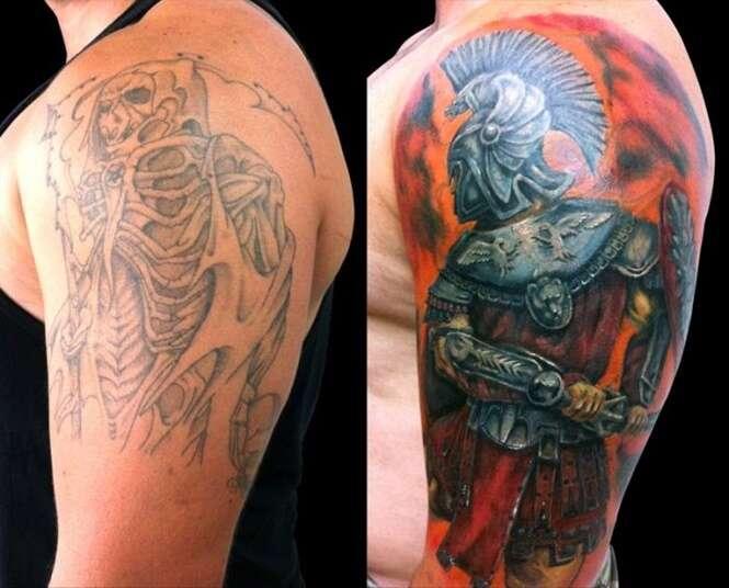 Tatuagens que foram transformadas por grandes artistas