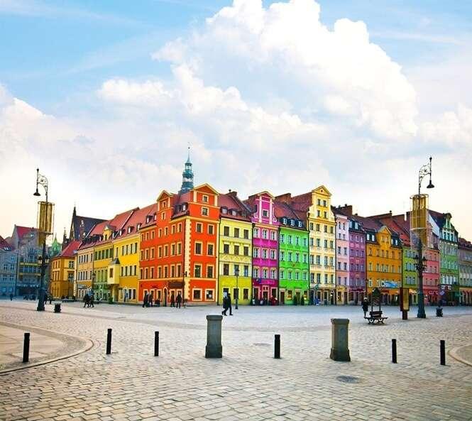 As cidades mais coloridas e brilhantes do mundo