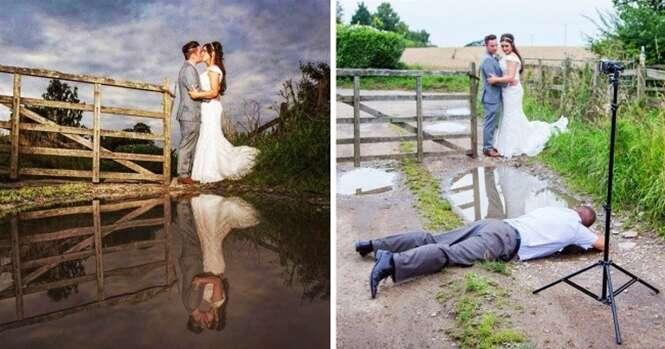 Fotógrafos que fazem de tudo pela foto perfeita