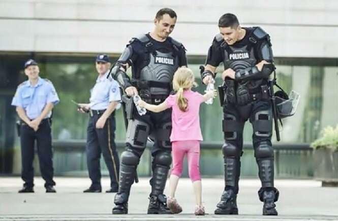 Fotos inspiradoras registradas durante protestos