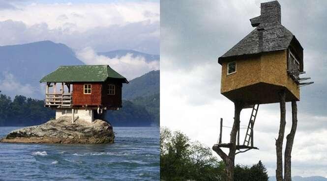 As casas mais extremas do planeta