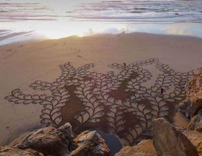 As mais incríveis obras de arte feitas em areia