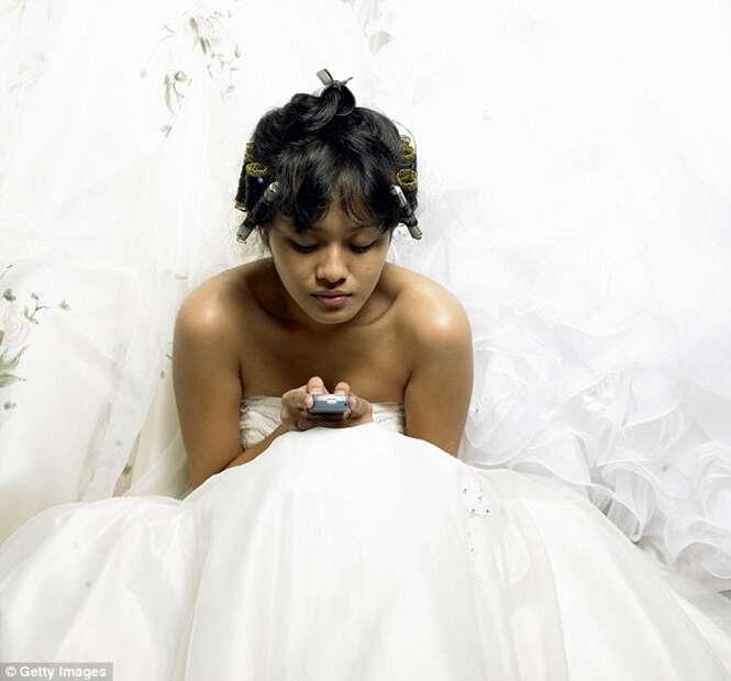 Marido divorcia na noite de núpcias