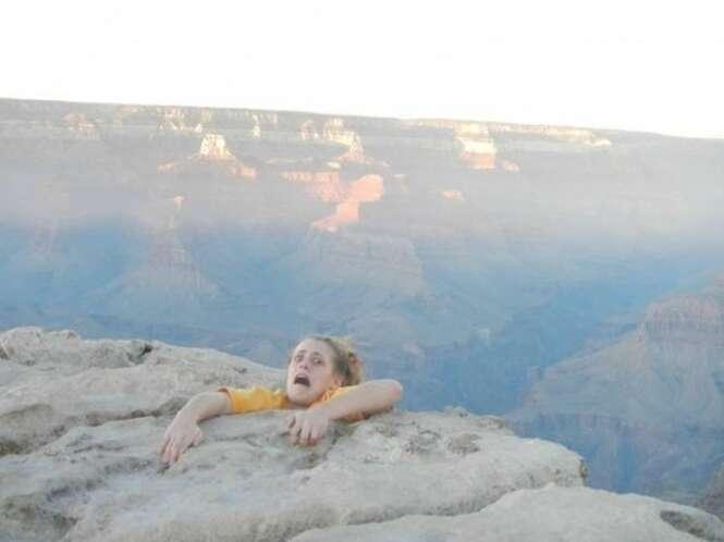 As fotos mais estranhas de férias