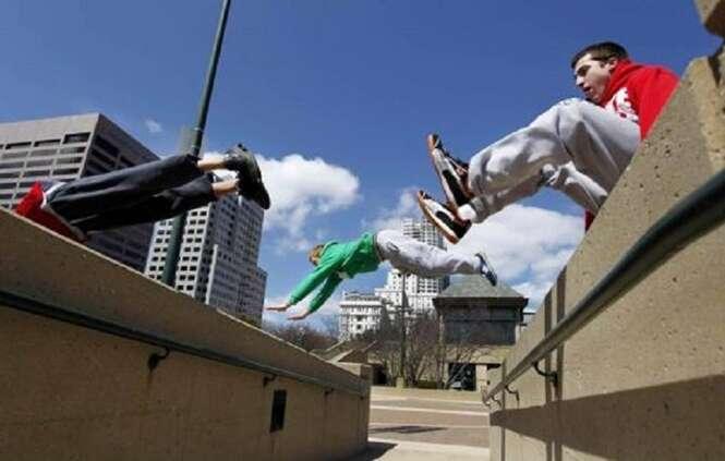 Fotos que vão te estimular a praticar parkour