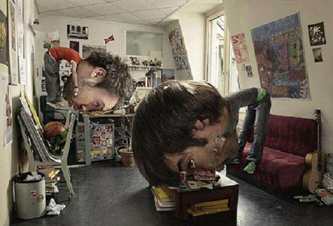 Fotos manipuladas que ganharam um resultado surpreendente
