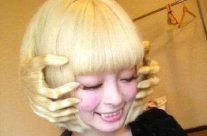 Os mais estranhos cabelos