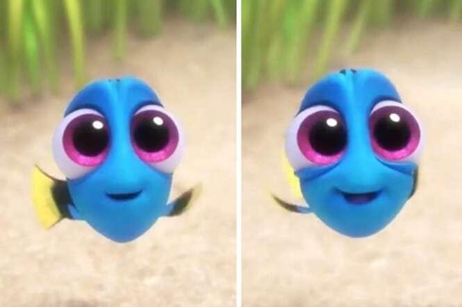 """Bebê Dory, o filme """"Procurando Dory"""", se torna a coisa mais fofa da história dos cinemas"""