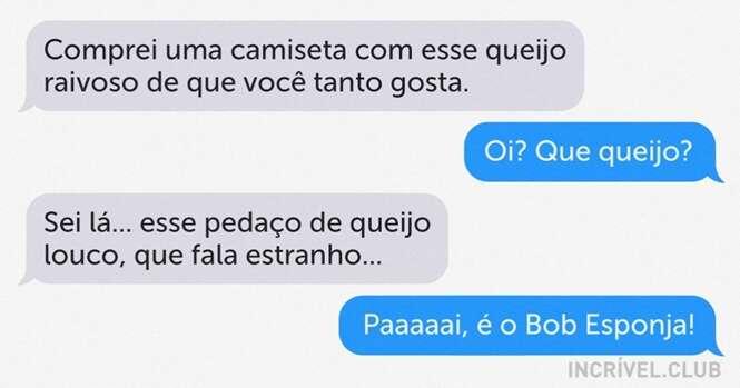 Mensagens de texto que são uma verdadeira comédia