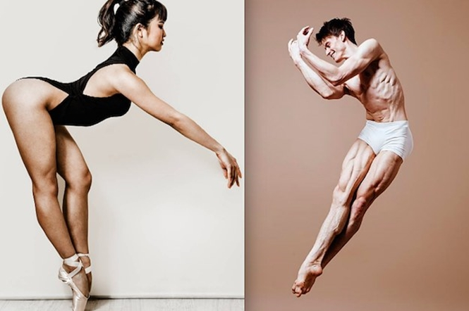 Provas de que os bailarinos são mais fortes do que delicados