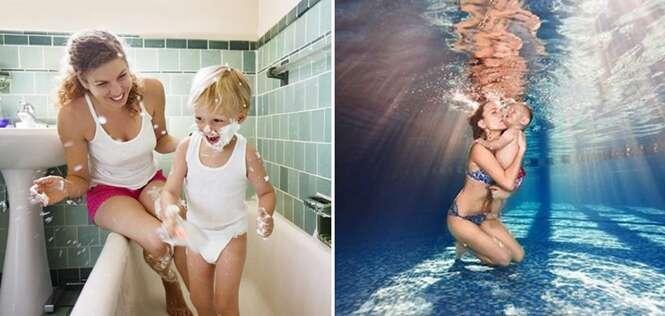 Fotos comoventes que mostram como é ter um filho homem