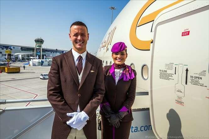 Descubra como é a viagem no avião comercial mais luxuoso do mundo