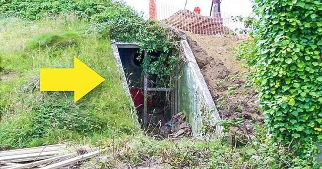 Jovem mulher compra velho bunker e o transforma em uma casa espetacular