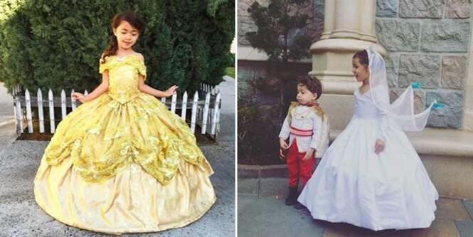 Pai faz os trajes mais incríveis de personagens da Disney para seus filhos