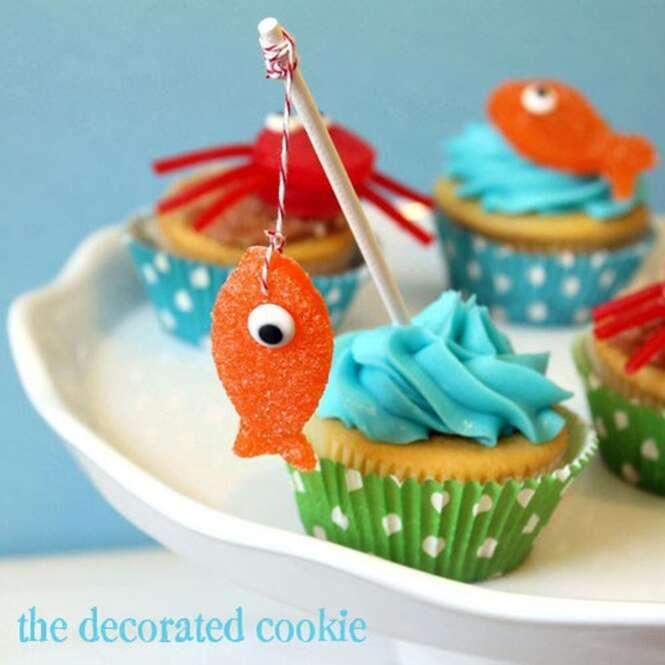 Guloseimas adoráveis para a festa de aniversário do seu marido