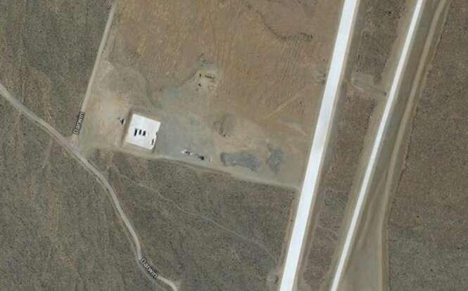 Lugares estranhos vistos no Google Maps