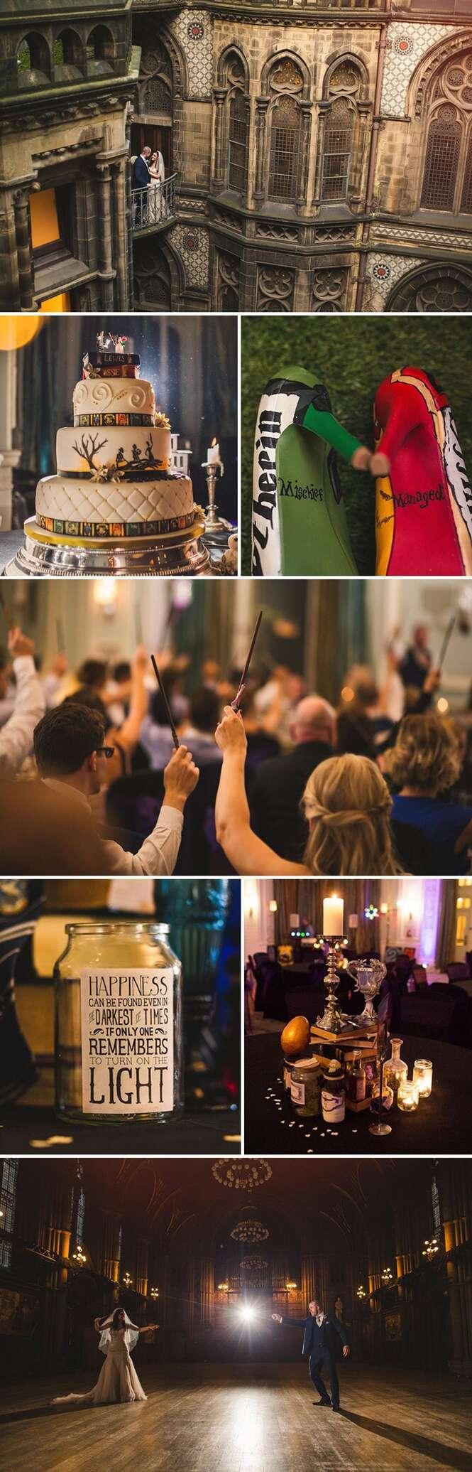 Fotos divertidas de casamentos Geek's