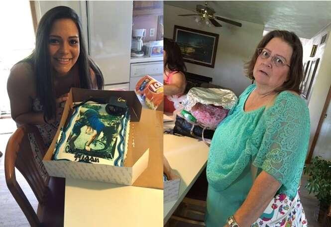 Mãe permite que filha escolha bolo de formatura e se decepciona com resultado