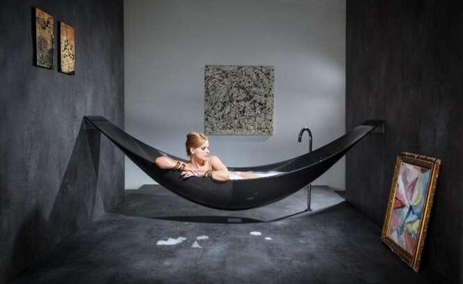 Banheiras luxuosas com design inovador