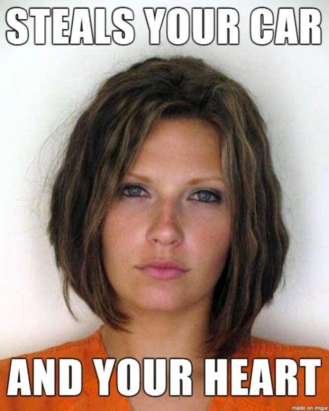 Criminosos que poderiam ganhar a vida como modelos