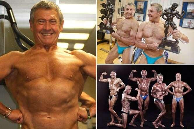 Fisiculturista de 73 anos sofre ataque cardíaco e mesmo assim continua sua busca pelo corpo perfeito