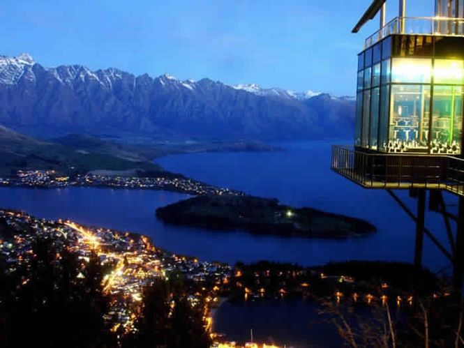Restaurantes com vistas fabulosas
