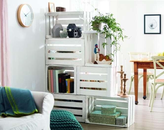 Ideias criativas para aproveitar caixotes de madeira
