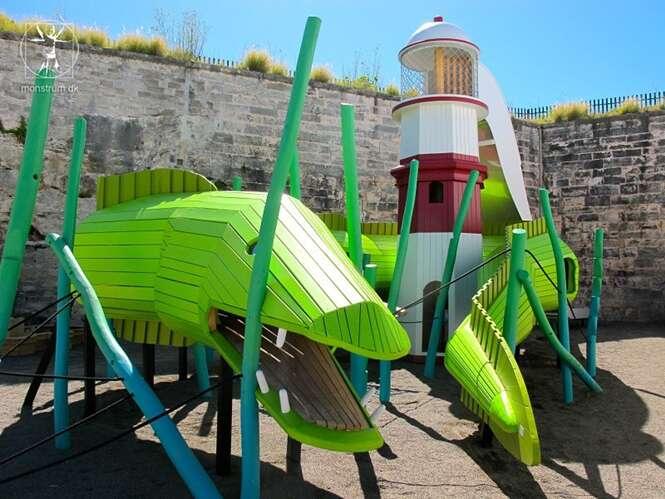 Brinquedos de parques infantis que qualquer criança iria se apaixonar