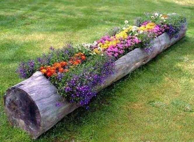 Fotos com ideias criativas para seu jardim