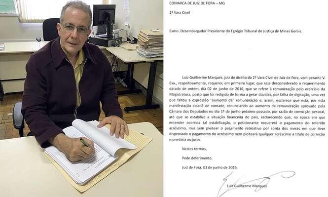 Juiz de Minas Gerais recusa receber aumento salarial aprovado pelo Congresso Nacional