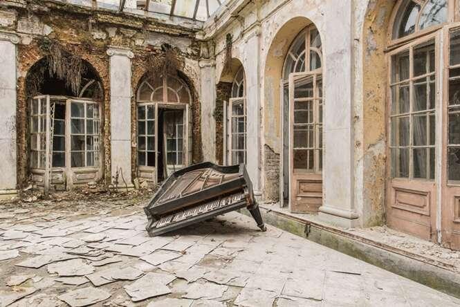 Imagens incríveis de edifícios abandonados por toda a Europa