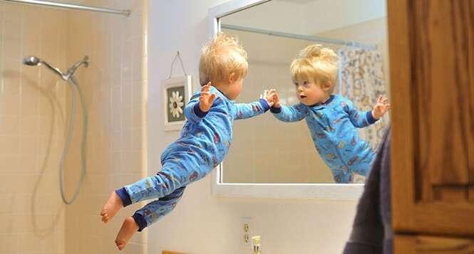 Pai cria fotos impressionantes de filho deficiente