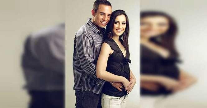Viúvo recria fotos da esposa usando sua filha