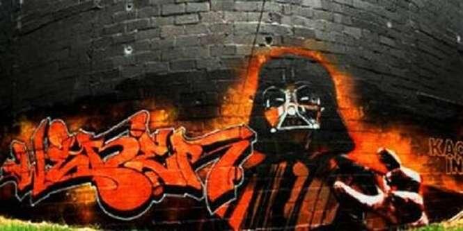 As melhores artes de rua feitas em homenagem a Star Wars