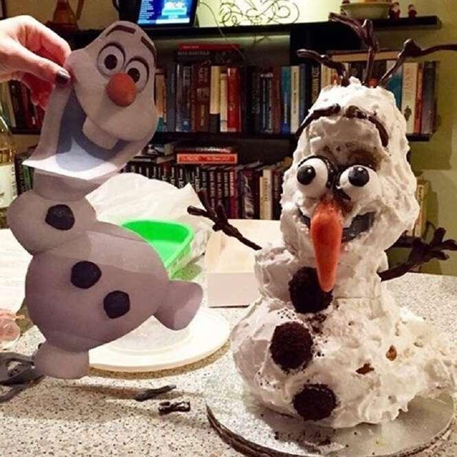 Os mais estranhos bolos de aniversário inspirados em personagens e histórias da Disney