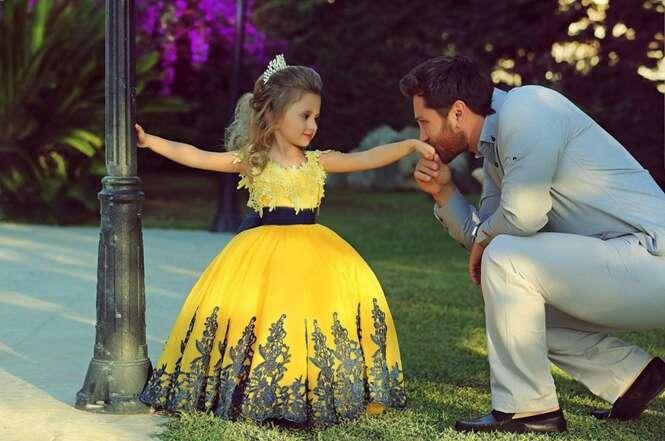 Fotos emocionantes de pais com suas filhas