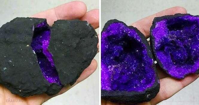 Incríveis pedras e minerais